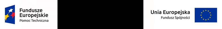 Logotypy Funduszy Europejskich oraz Uni Europejskiej