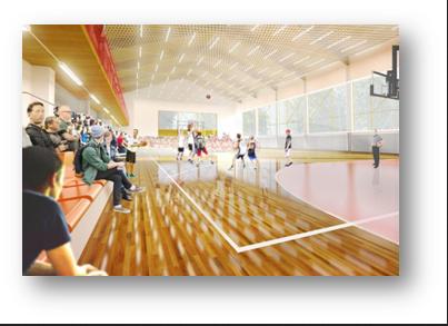 Hala Sportowa przy Szkole podstawowej nr. 1