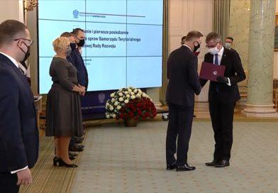 Burmistrz Jacek Lelek w prezydenckiej radzie ds. samorządu