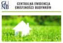 Obowiązek składania deklaracji do Centralnej Ewidencji Emisyjności Budynków