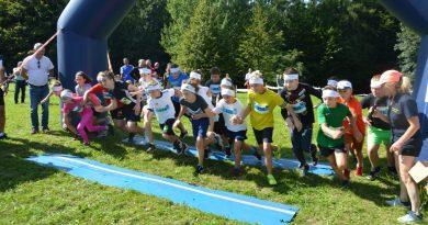Rekordowe bieganie na Miejskiej Górze